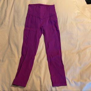 Lululemon dark pink new without tag size 4